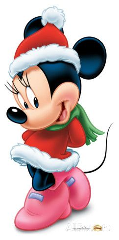 minnie mouse christmas lifesize standup stand up disney no l pinterest. Black Bedroom Furniture Sets. Home Design Ideas