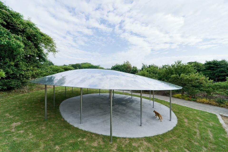 Kazuyo sejima inujima art house project