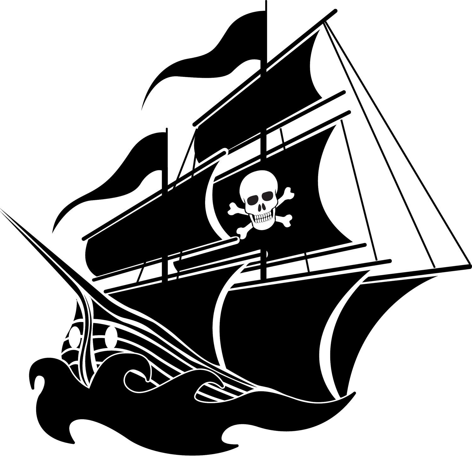 AIDAN!!!!! Pirate Ship boat Removable vinyl wall decal  with by wallinspired, $35.00