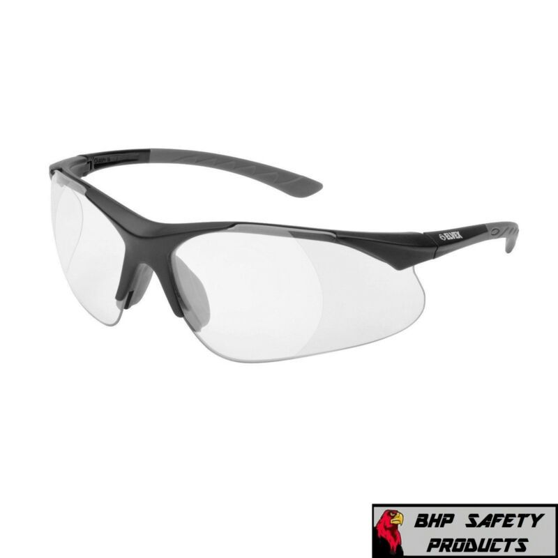 Featured refinements clear safety glasses model 500c