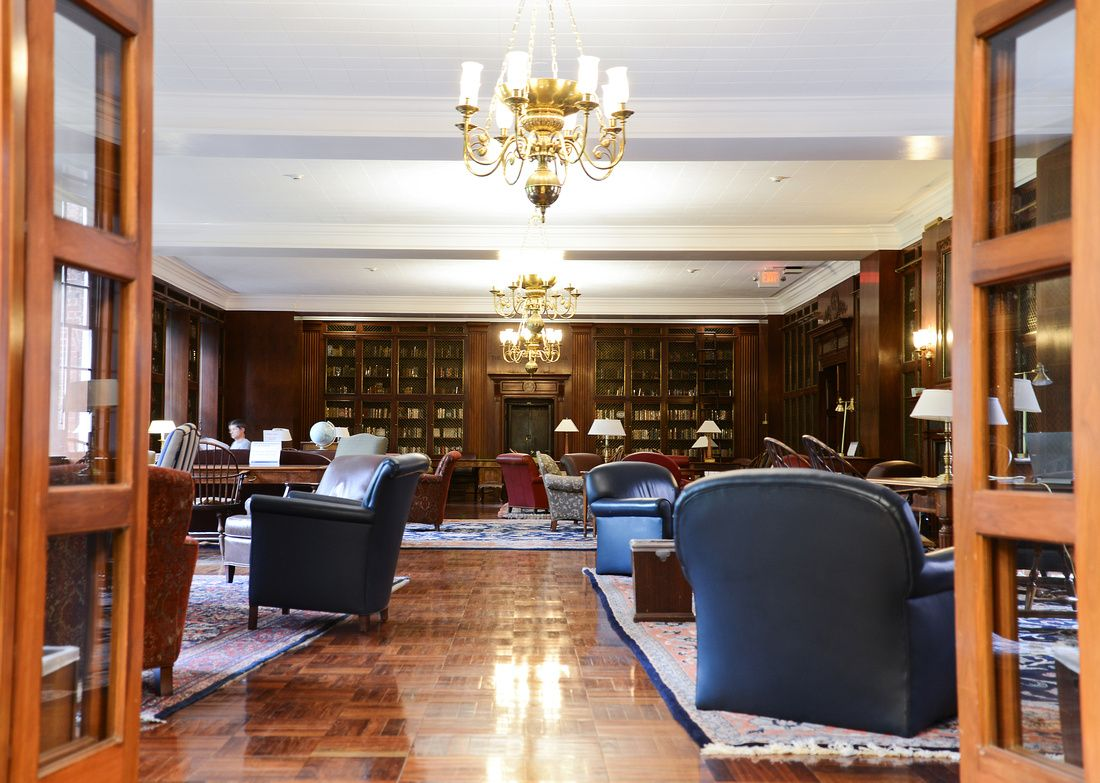 The Mcgregor Room Harry Potter Room In Alderman Library At The