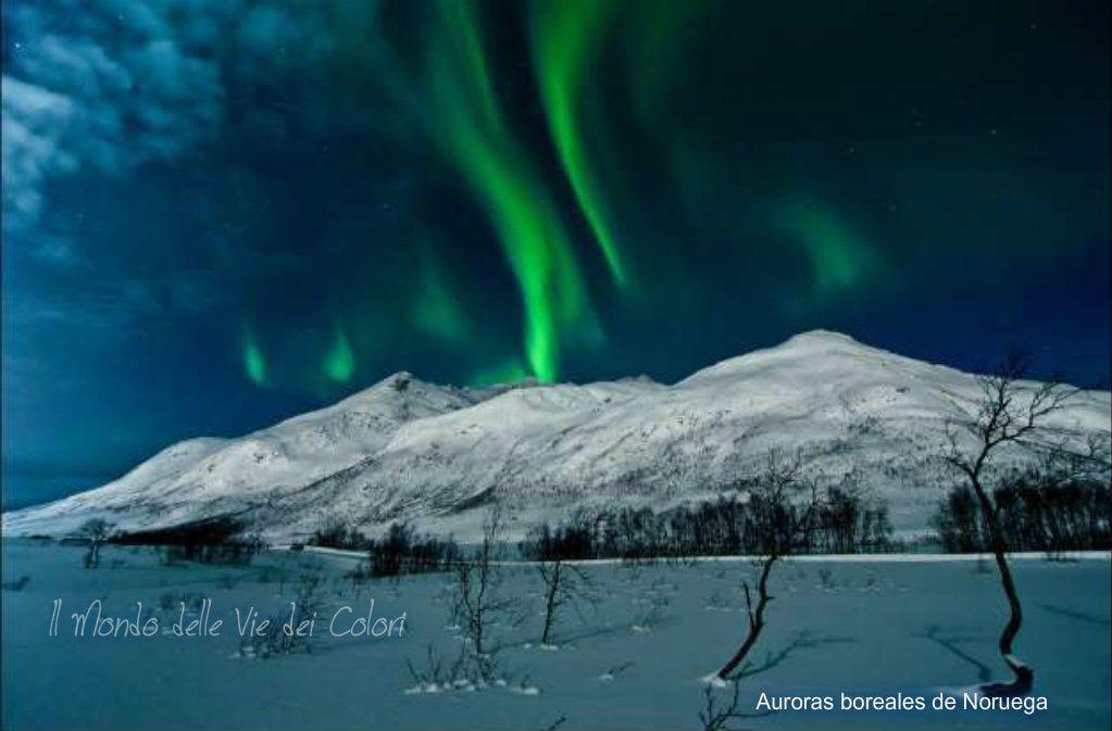 Auroras boreales de Noruega