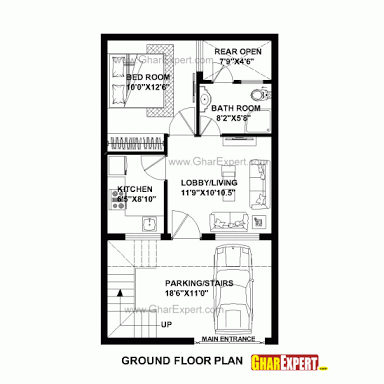 Image Result For House Plan 20 X 40 Sq Ft Indian House Plans 20x30 House Plans House Plans