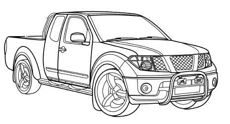 printable coloring pages of cadillac - photo#10