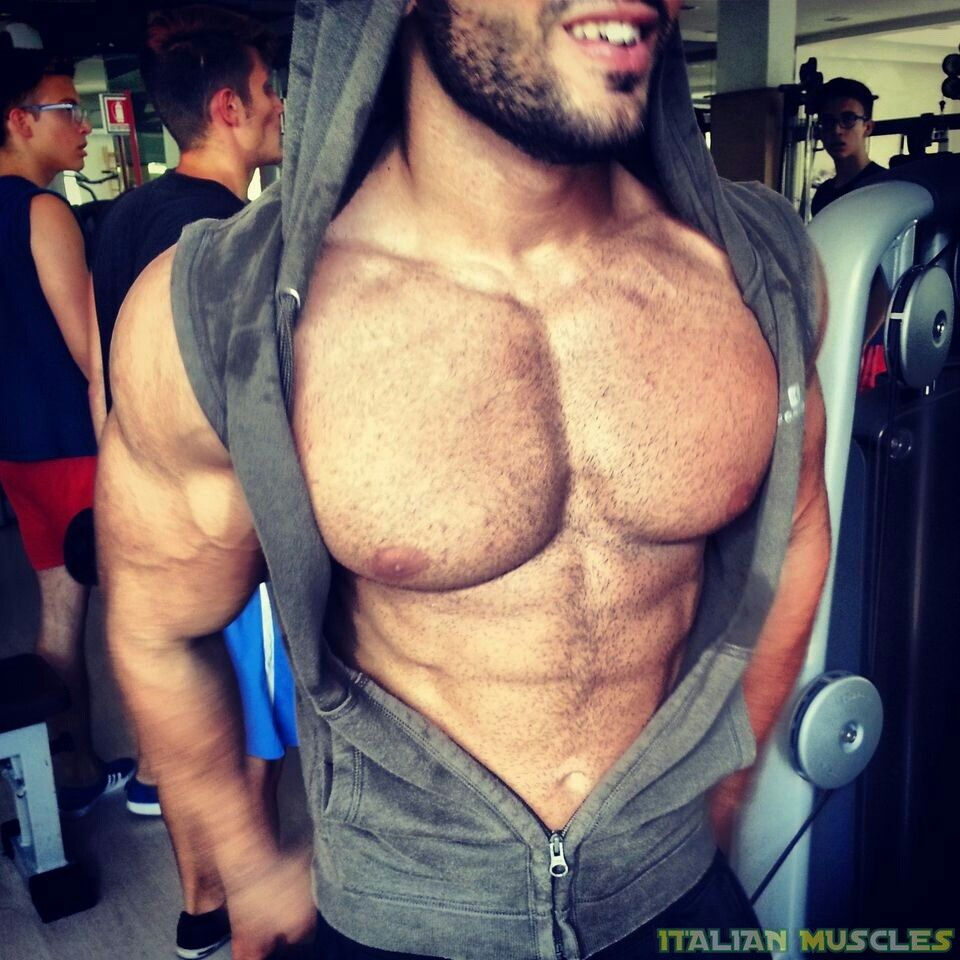 Pin by B. W. on JUST MUSCLES in 2020 | Male chest, Muscle