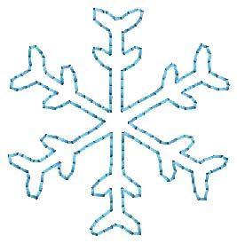 Free Embroidery Design: Snowflake Quilt Motif - I Sew Free   Free ... : snowflake quilting design - Adamdwight.com