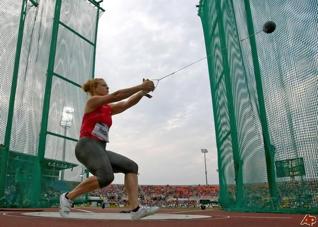 Betty Heidle Women S World Record Holder In The Hammer Throw 260 56 Feet Track And Field Olympic Track And Field Hammer Throw