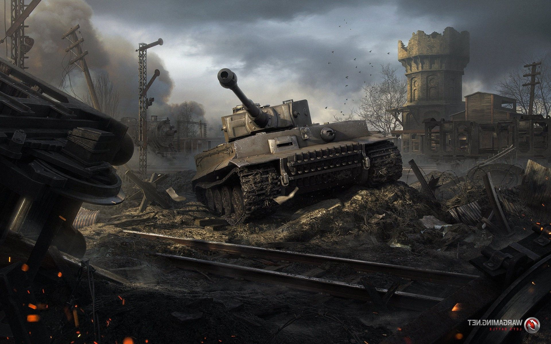 World Of Tanks Tiger Wallpaper P Other Wallpaper Tank Wallpaper World Of Tanks Tiger Tank