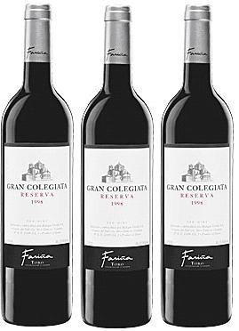 Gran Colegiata Reserva Excelente Vino Tinto De La Bodega Farinas