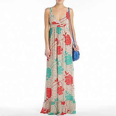 Seriously need this MNG by Mango® Maxi Dress