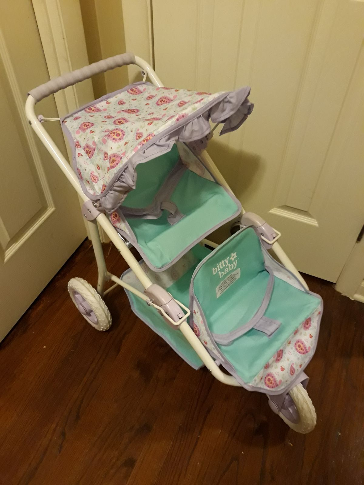 American Girl Bitty Baby Twin/Double Stroller. Daughter