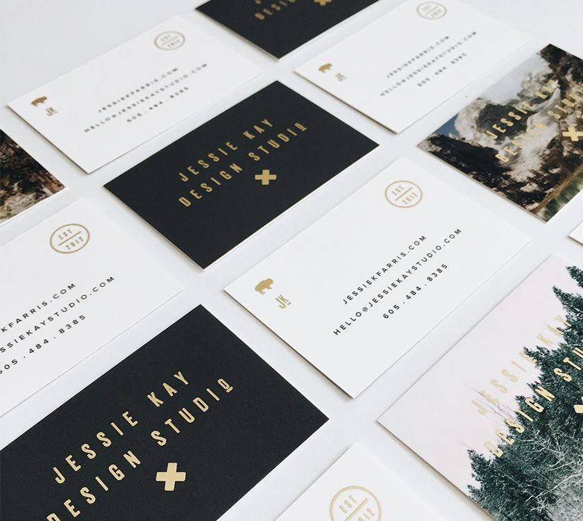 Product Review - MOO Gold Foil (Blog - By Jessie Kay) | Business ...