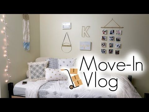 College Move In Day Vlog University Of Oregon