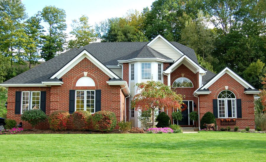Attractive Red Brick Home Design Archive Red Brick House Brick House Designs Exterior House Colors