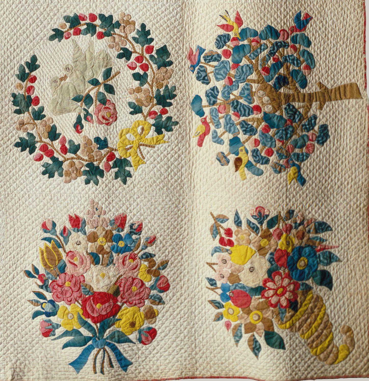 Quilt, Presentation pattern | Applique Quilts | Pinterest ... : quilting history timeline - Adamdwight.com