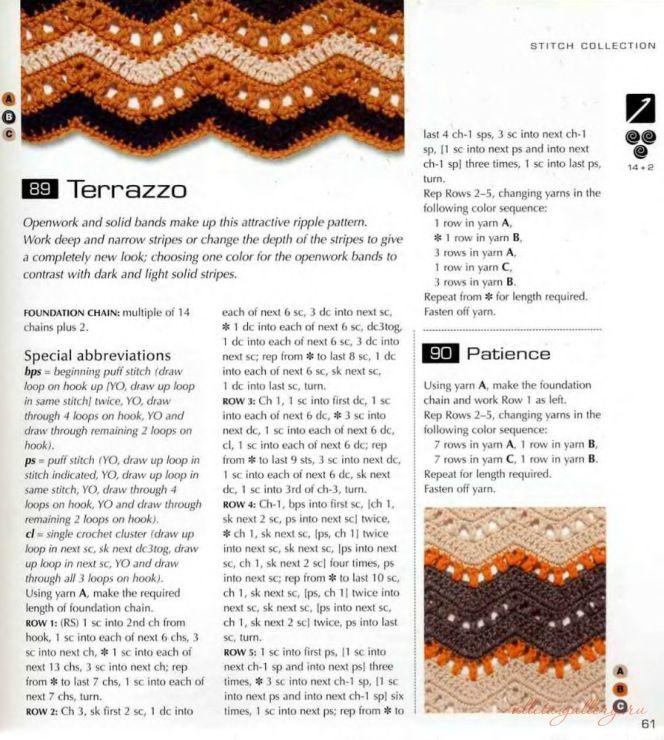 Terrazzo | Crochet - Intermediate Afghans, Blankets and Throws ...