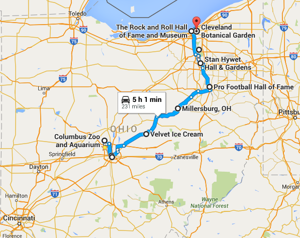 10 Amazing Places You Can Go On One Tank Of Gas In Ohio Places To