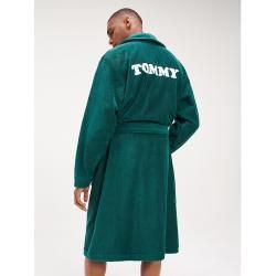 Photo of Tommy Hilfiger cotton bathrobe with logo M Tommy HilfigerTommy Hilfiger