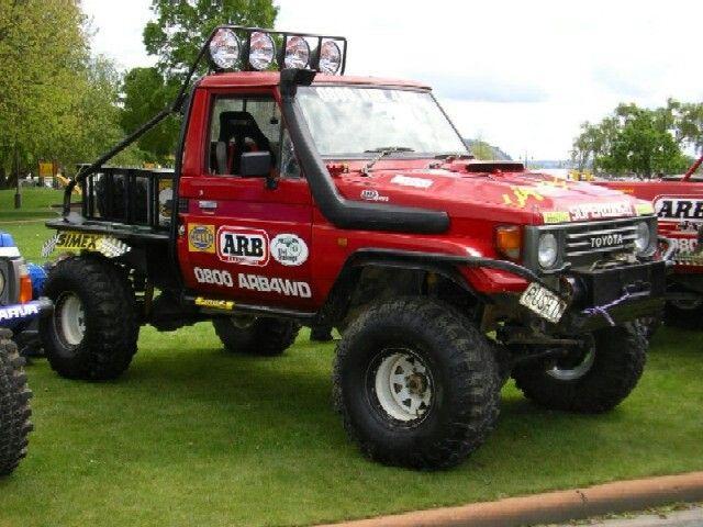 75 series | Landcruisers | Monster trucks, Land cruiser, Toyota land