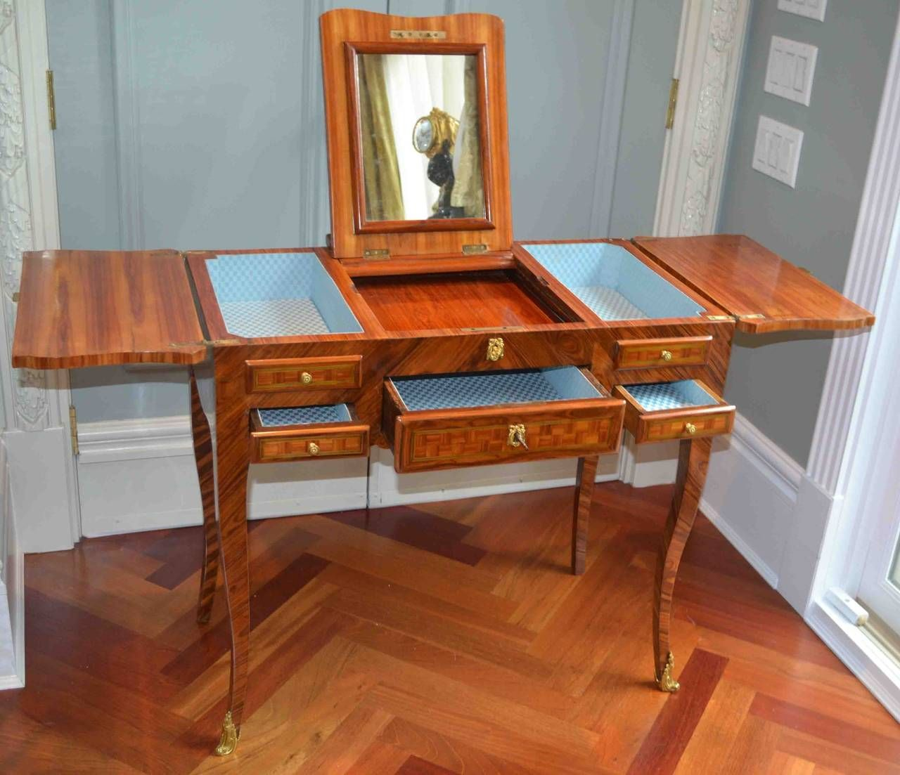 Dressing Coiffeuse 19thc French Coiffeuse Ladies Dressing Table Splish