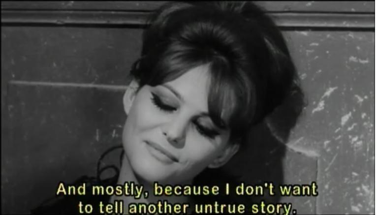 Claudia Cardinale In 8 12 A Movie By Federico Fellini Classic