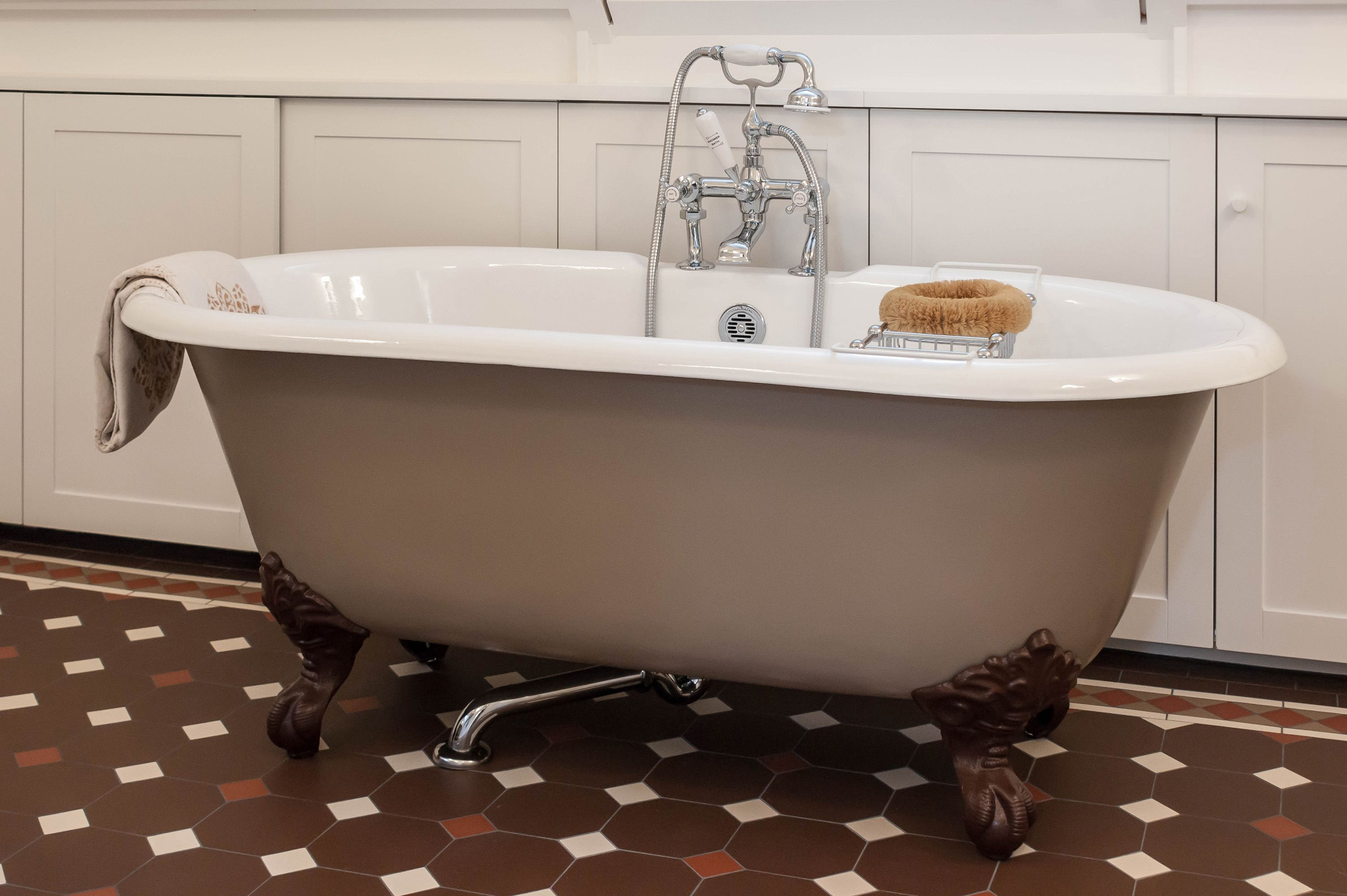 Englische Badewanne Badewanne Traditionelle Bader Gusseisen Badewanne