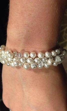 Wedding Dress Accessories - Jewelry Bracelet $30 USD - Used