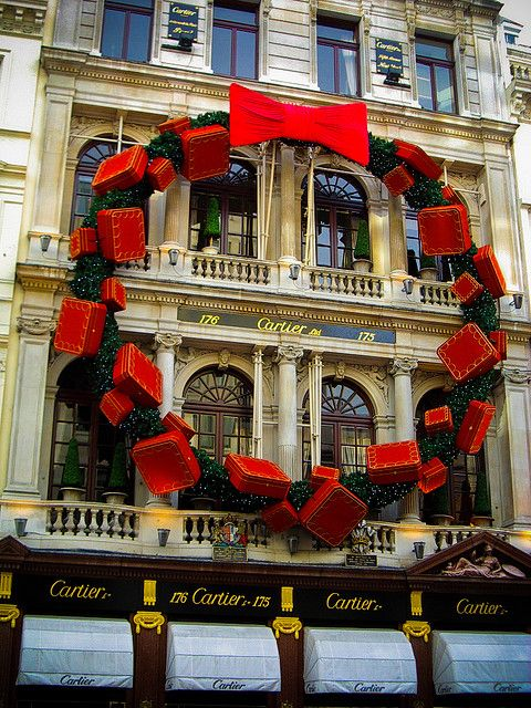 Cartier 175 176 New Bond Street London Christmas Christmas In The City Christmas