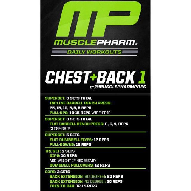 Mp workout of the day chest back 1 by musclepharmpres powered mp workout of the day chest back 1 by musclepharmpres powered by malvernweather Image collections