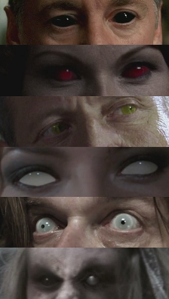 Demon Eyes from Supernatural #SPN 1. Demon 2. Cross Roads ...