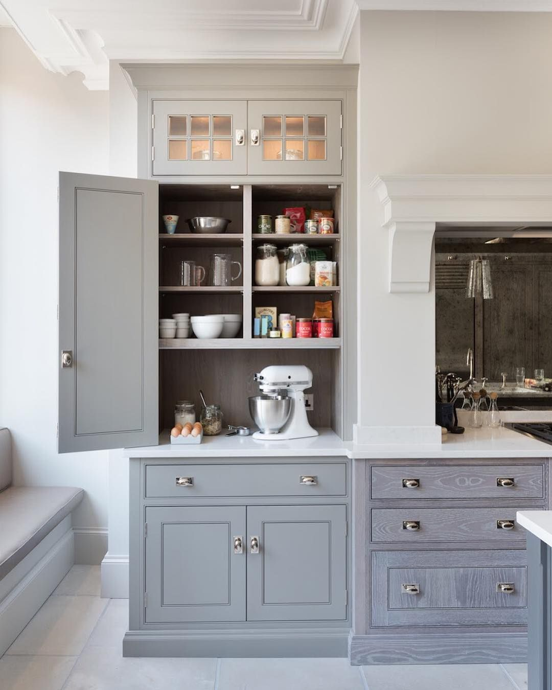 """6 Tips For A Kitchen You Can Love For A Lifetime: Humphrey Munson On Instagram: """"Countertop Cupboard With"""