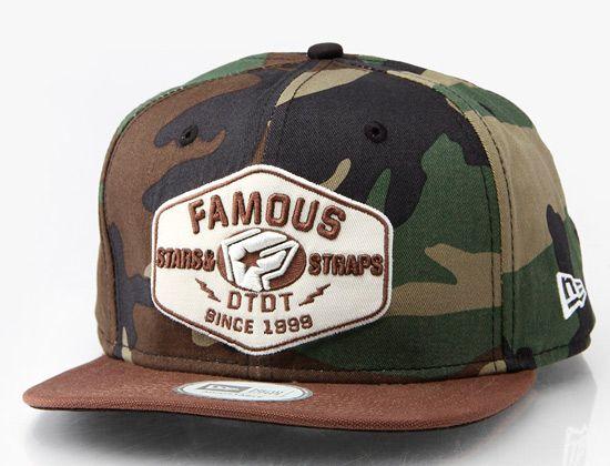 "5d15c799562de FAMOUS STARS STRAPS x NEW ERA ""Strike"" 9Fifty Snapback Cap"