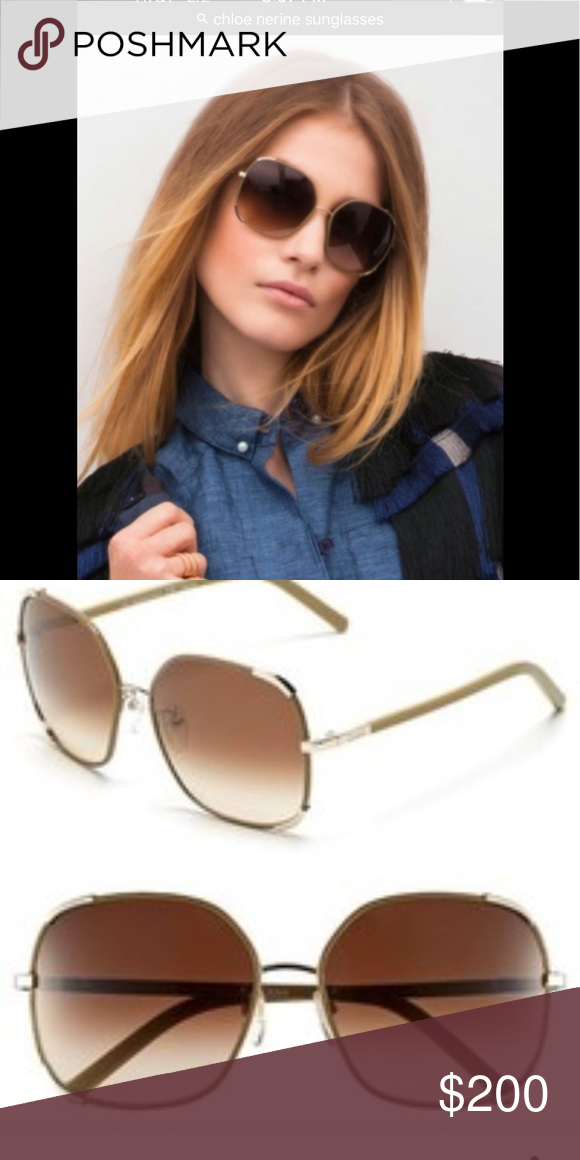 a79929168382 Chloe sunglasses Nerine model