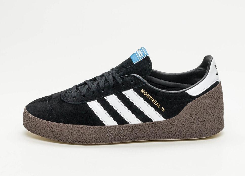 adidas Montreal 76 (Core Black Ftwr White Gold Metallic