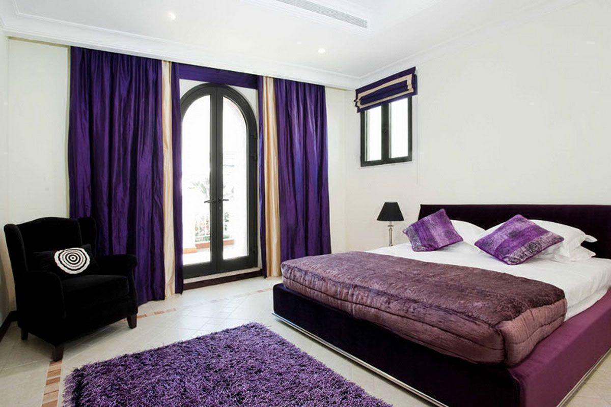 Purple Bedroom Ideas Teal And