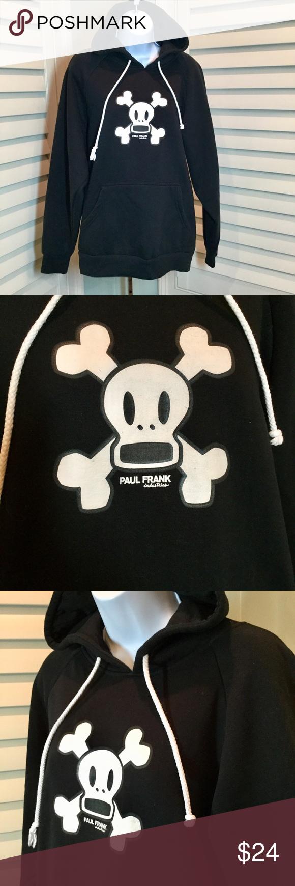 0bd69fc5c Paul Frank Skully Sock Monkey Skull Hoodie