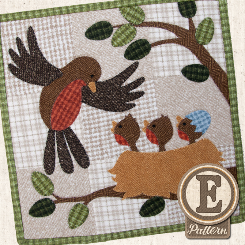 Little Quilts Squared Calendar Series E-Patterns