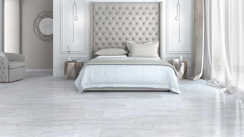 Rooms Bedroom 1 Vendor Maravilla Nessus White Polished Marble Tile Living Room Tile Bedroom Marble Bedroom Bedroom Flooring