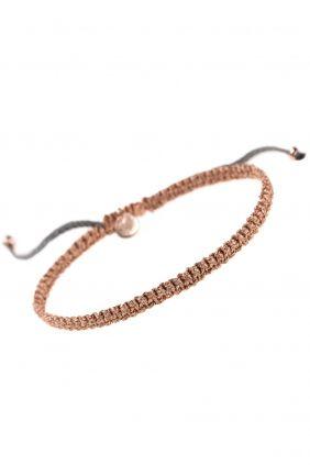CORD Armband Sterling Silber rosé vergoldet