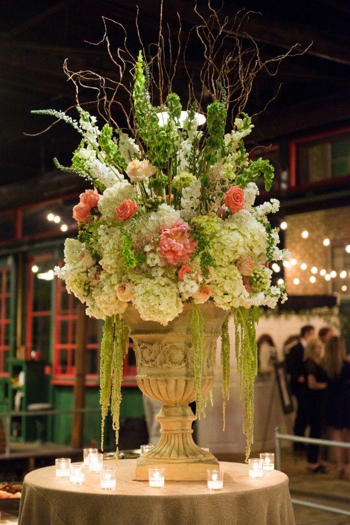meridian ms wedding florist coral peony centerpiece large floral arrangement for food buffet. Black Bedroom Furniture Sets. Home Design Ideas
