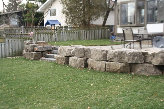 Landscaping With Armor Stone Outdoor Living 400 x 300