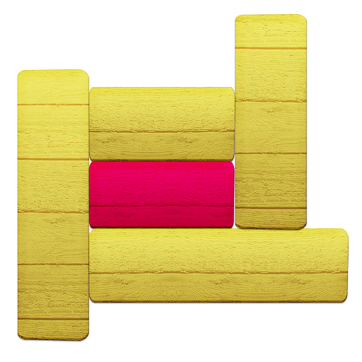 Slide To Unblock Me Red Free puzzle apps, London print