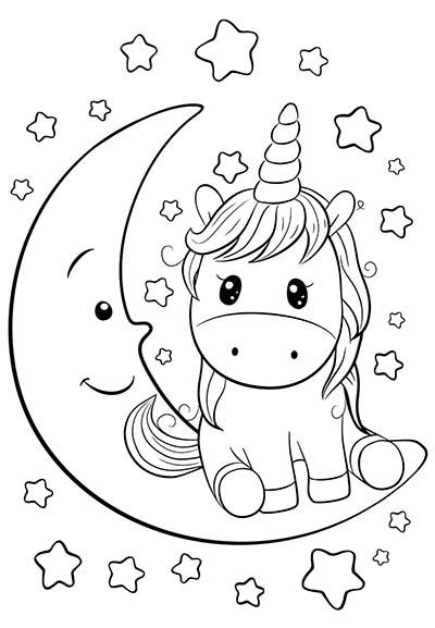 Imagen Unicorn Coloring Pages Cute Coloring Pages Free Kids Coloring Pages