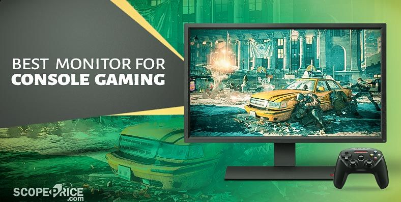 We made a list of best monitor for console gaming in 2017  Explore