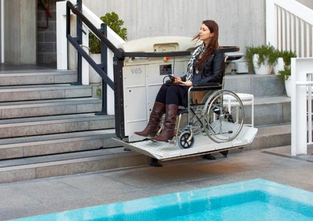 Limited Mobility Lifts | Wheelchair Stair Platform Lifts ...