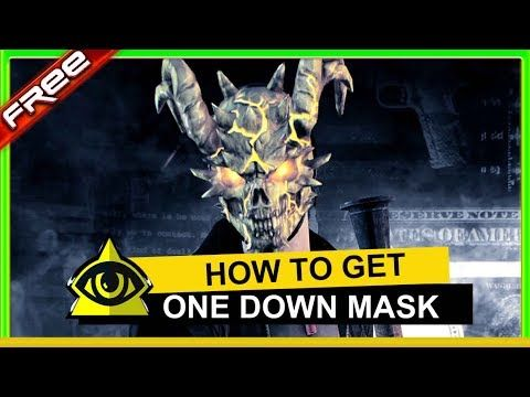 how to get one down mask easy on payday 2 - GAMES > - ModZ