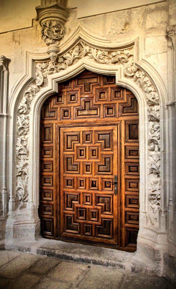 monastery of el paular rascafria spain door door. Black Bedroom Furniture Sets. Home Design Ideas