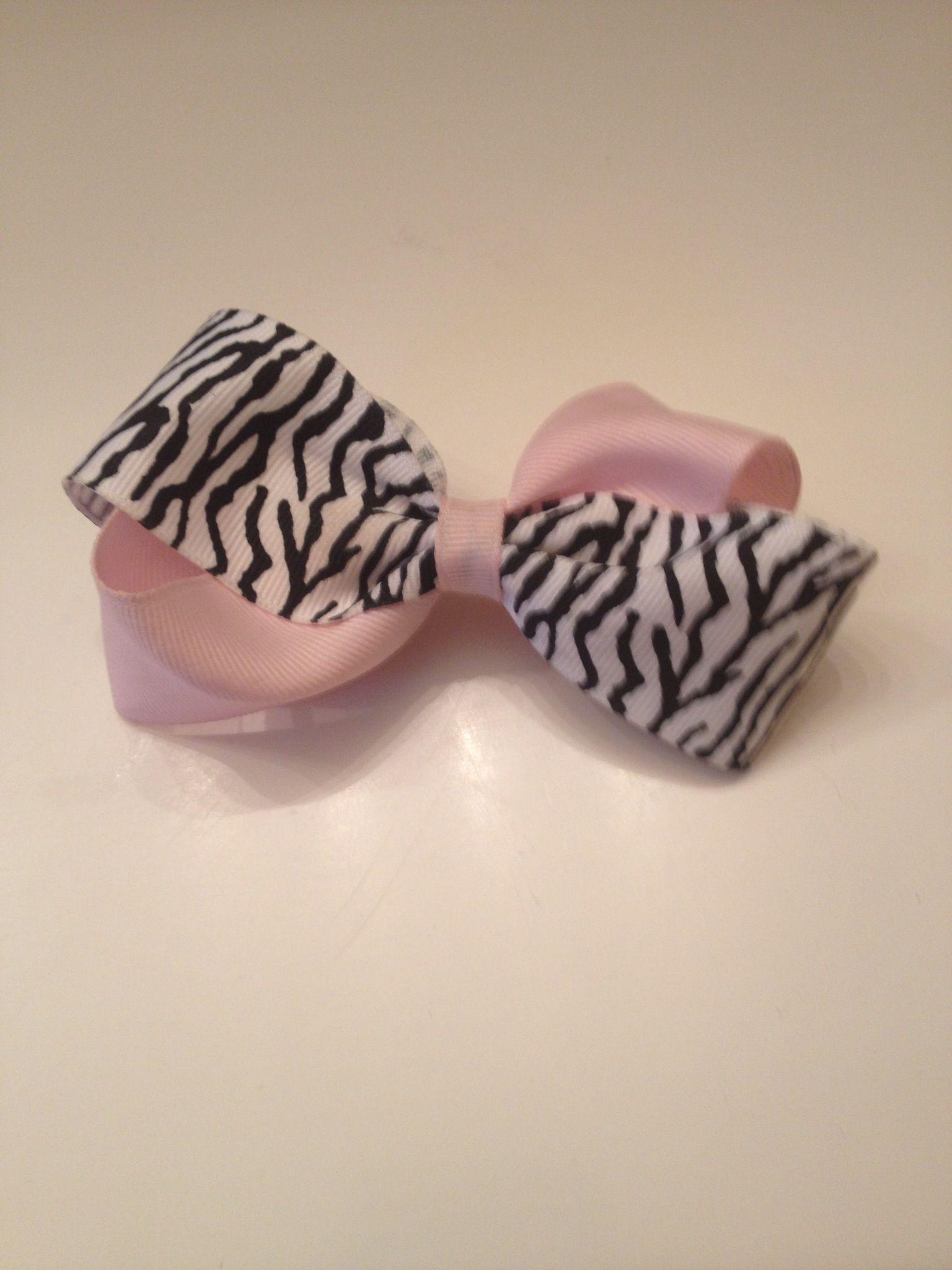Girly zebra bows pinterest girly