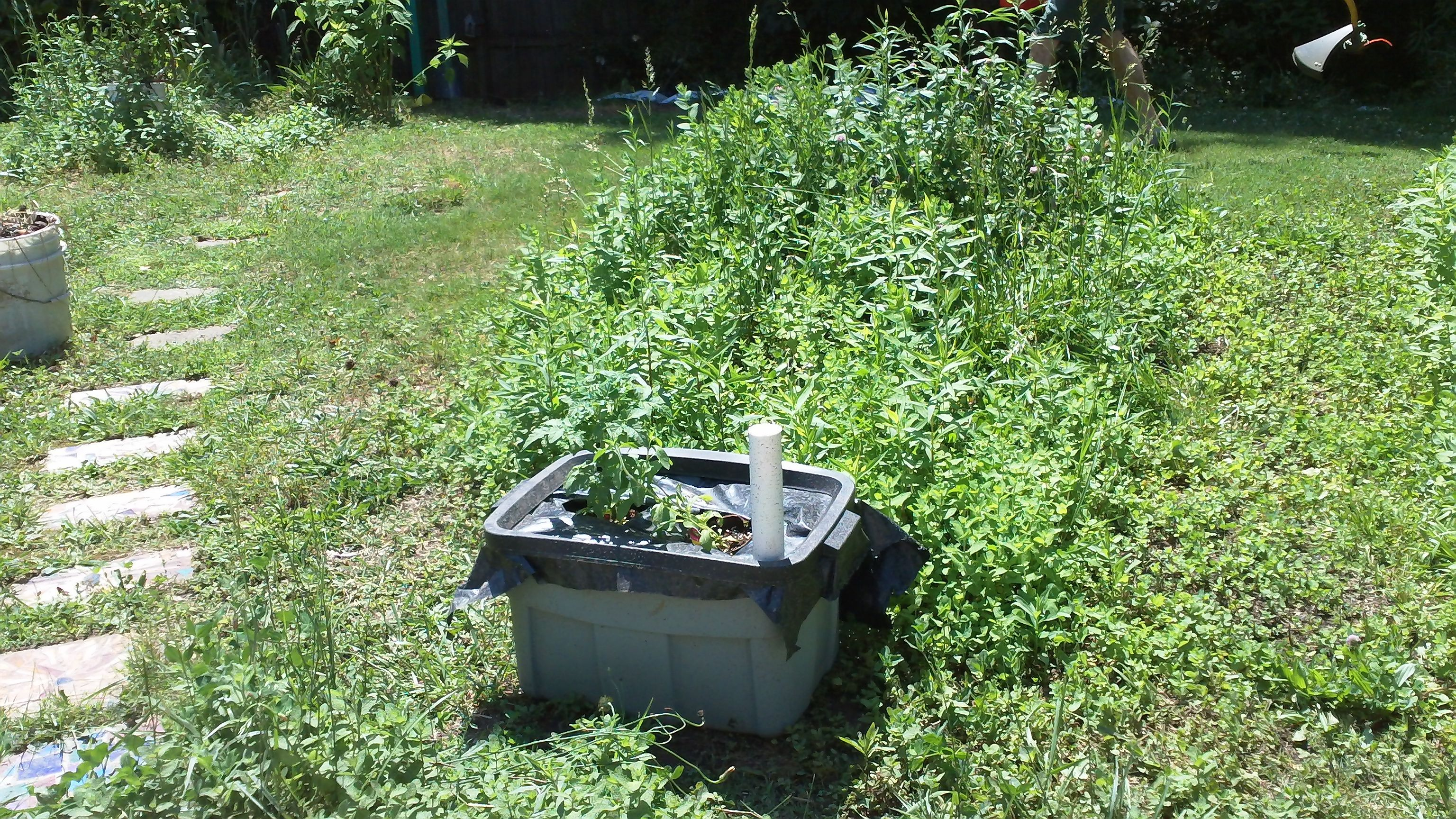 Consider, that False bottom for garden containers