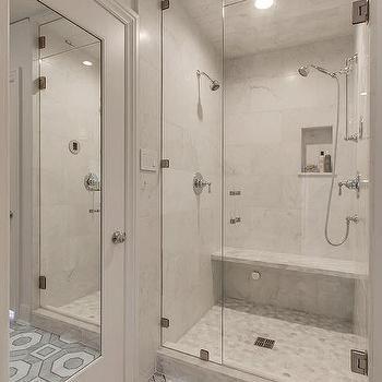 Steam Shower Design with Tilt Out Window